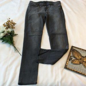 Kut from the Kloth Diana Skinny Leg Jeans Gray 12